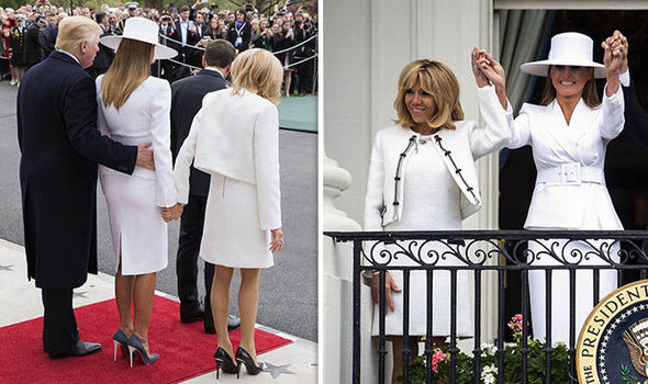 Melania Trump CANNOT do anything Brigitte Macron condemns White House security