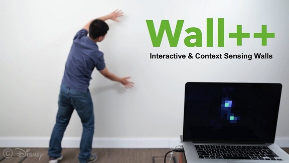 You may soon be able to control your home with a smart wall