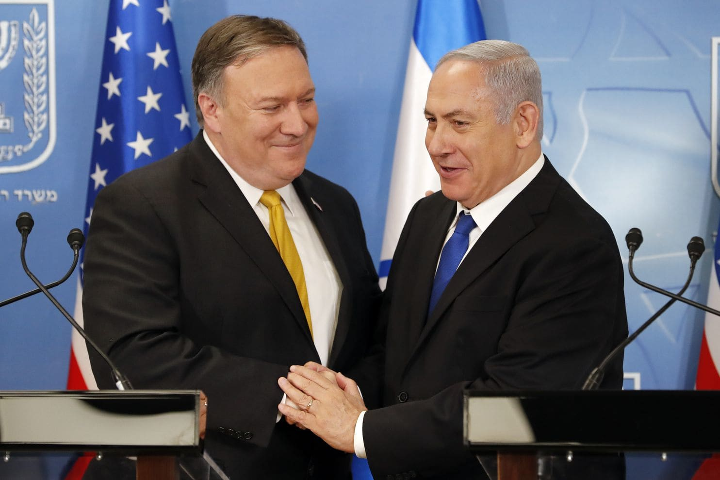 Pompeo says US stands with Israelis, Saudis against Iran