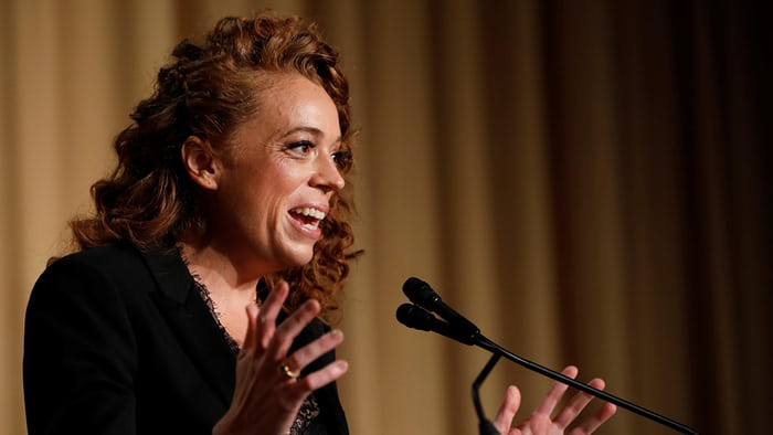 Like father like daughter: comedian Michelle Wolf stuns media with attack on White House team