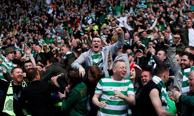 Celtic seal Scottish Premiership title with 5-0 rampage over Rangers