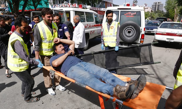 Kabul: more than 20 dead as explosions hit city centre