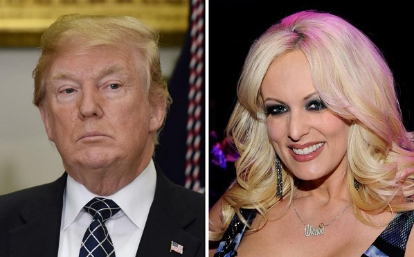 Trump asks federal judge to order private arbitration in Stormy Daniels case
