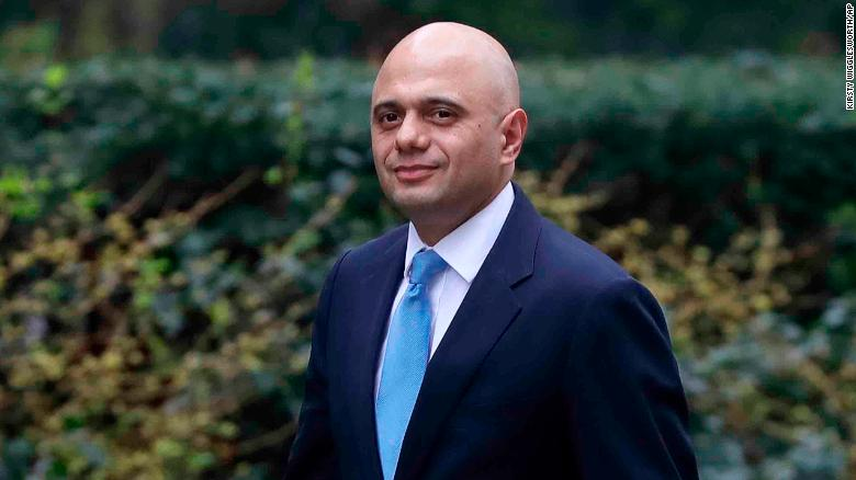 Sajid Javid named new UK home secretary after Windrush scandal