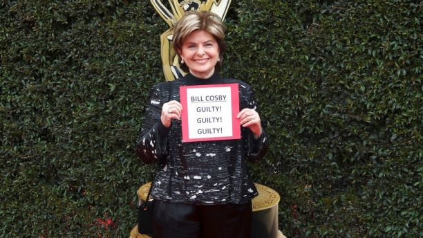 Gloria Allred booed for yelling Bill Cosby Guilty! at Daytime Emmy Awards