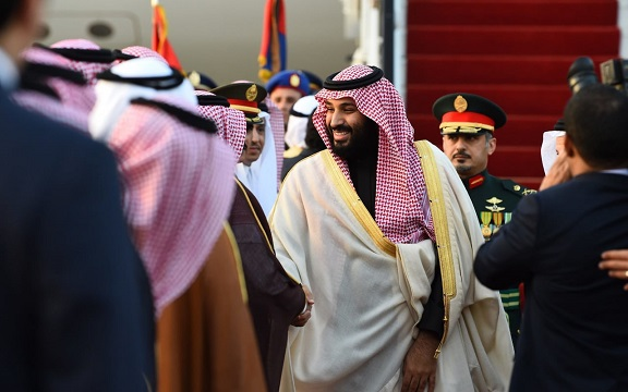 Saudi crown prince says Israel has right to homeland in sign of normalising ties