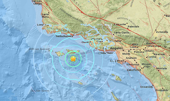 California earthquake: 5.3 magnitude quake strikes off coast amid BIG ONE fears