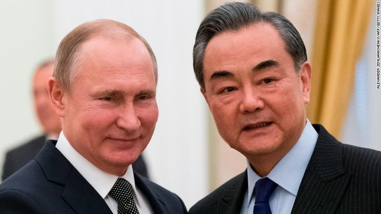 China: Ties with Russia at best level in history