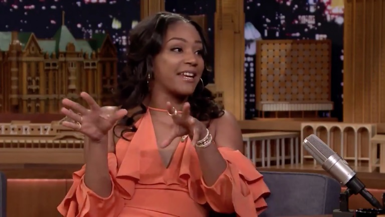 Tiffany Haddish Role-Plays Imaginary Date With Brad Pitt