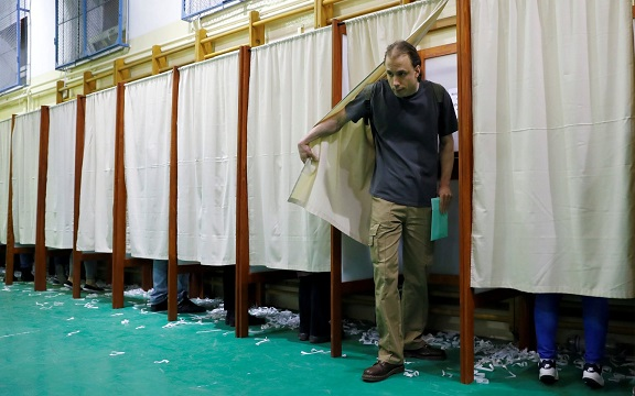 Hungarians flock to cast their ballot as Viktor Orbans party faces calls for election enquiry