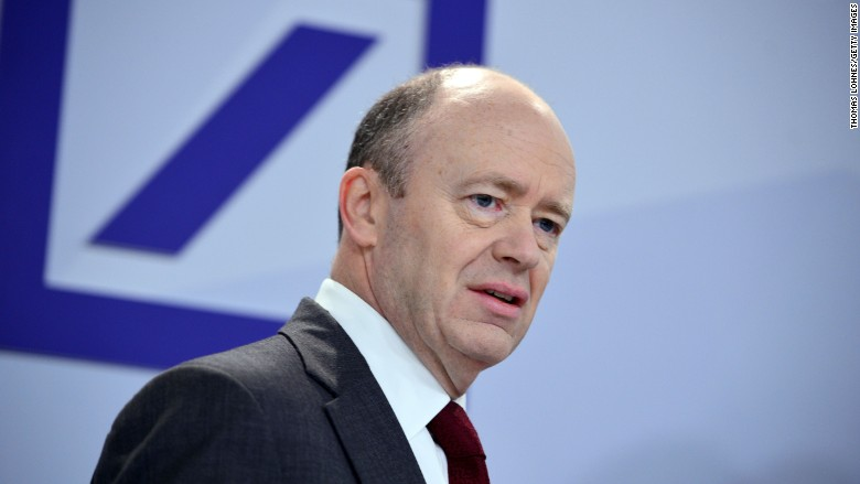 More turmoil at Germanys biggest bank: Deutsche Banks CEO is out