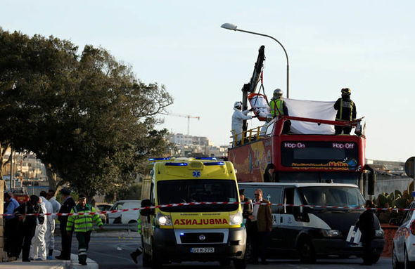 Malta bus crash: 2 dead and 50 injured as bus hits tree – 2 UK kids in critical condition