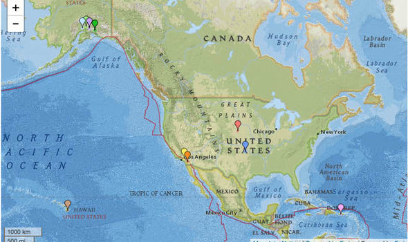 Earthquake hits today MAP: Oklahoma, Nebraska and Los Angeles hit by earthquakes