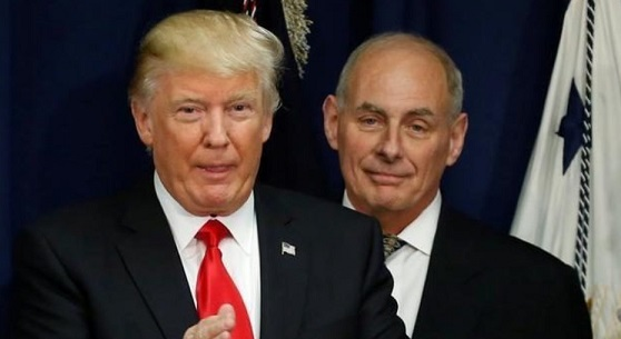 John Kelly: Trump 'Somewhat Embarrassed' About Russia Probe