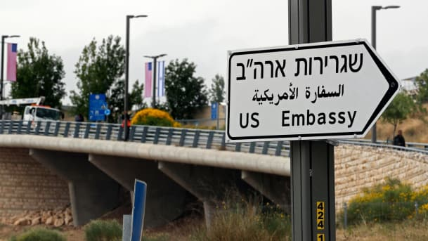 Trump claims he saved almost $999,800,000 on US embassy in Jerusalem