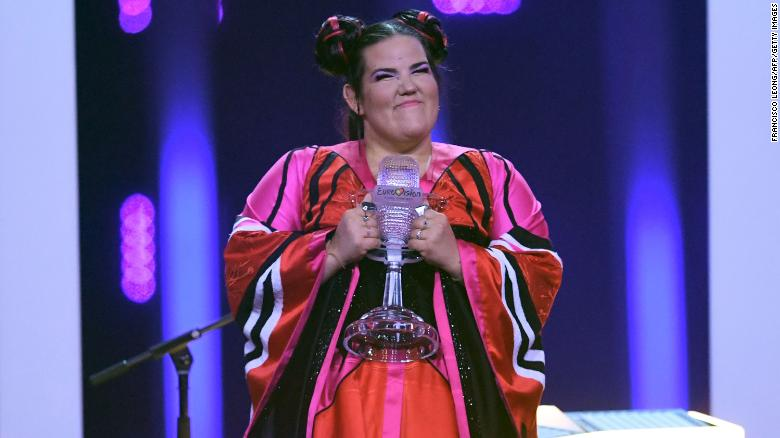 Netta Barzilai of Israel wins Eurovision Song Contest