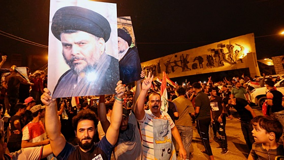 Shiite cleric al-Sadr leads in Iraqs initial vote results