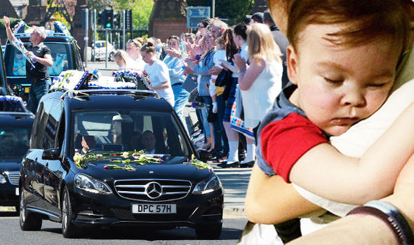 Alfie Evans funeral LIVE: 'Our Hero' Thousands line streets of Liverpool to say goodbye