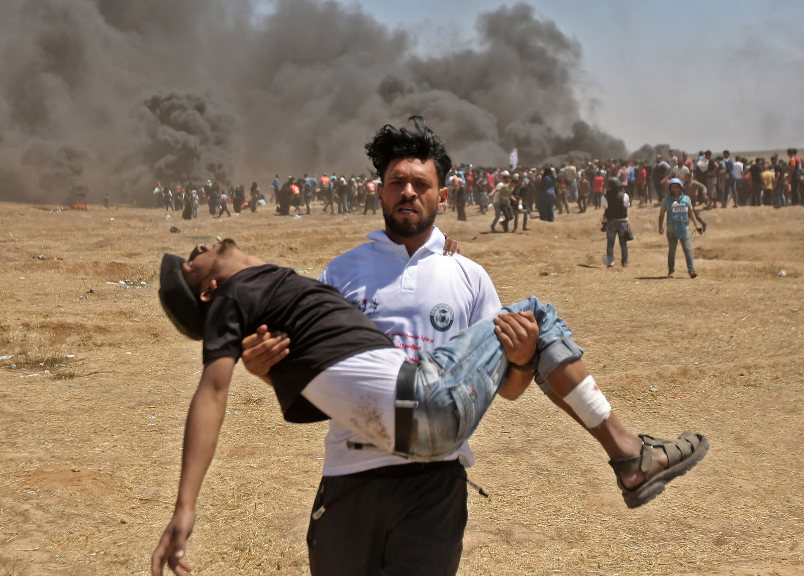 In pictures: Deadliest day in Gaza since 2014