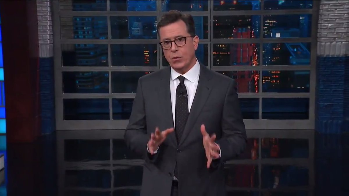 Colbert Savages 'Peace-Treaty Barbie And Collusion Ken' Over Embassy Opening