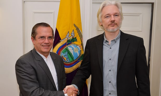 Revealed: Ecuador spent millions on spy operation for Julian Assange