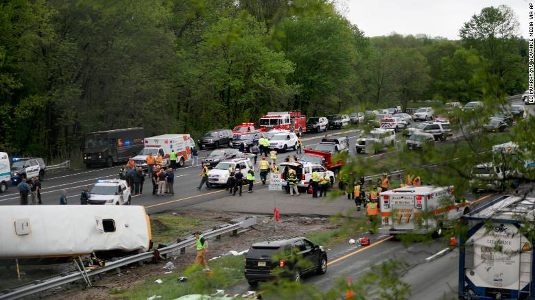 1 adult, 1 child killed in horrific accident involving school bus and dump truck in New Jersey