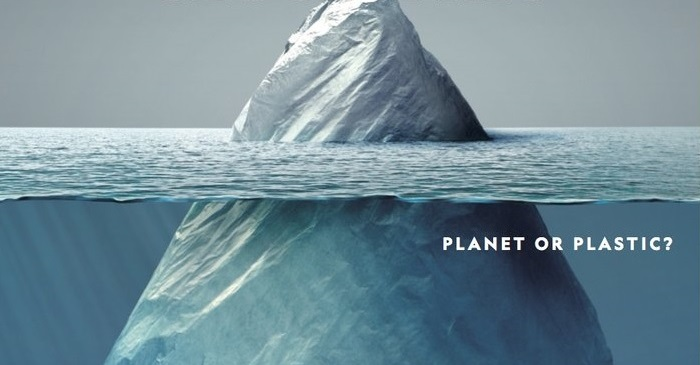 National Geographic's Clever New Cover Contains Chilling Warning About Plastics