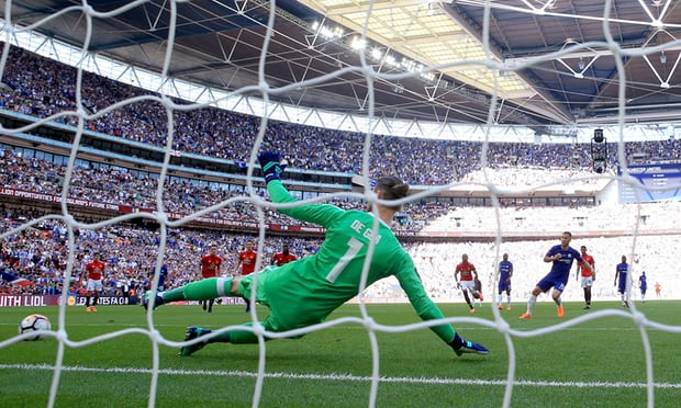 Chelsea's Eden Hazard spot-on to sink Manchester United and win FA Cup