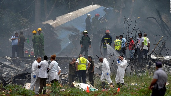 Cuba mourns more than 100 killed in plane crash
