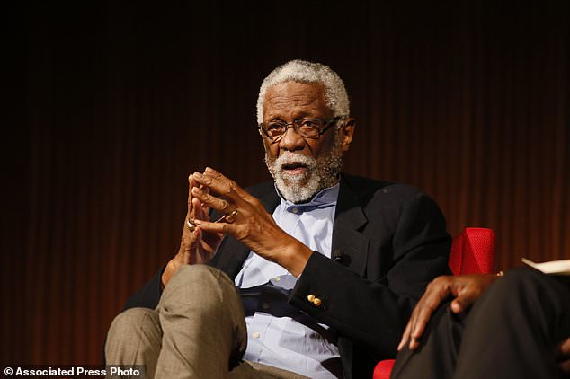 Basketball great Bill Russell released from hospital