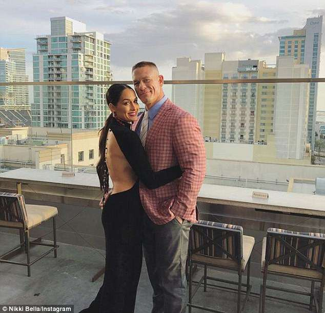 John Cena and Nikki Bella PICTURED: WWE Superstars reunite in San Diego after breaking engagement