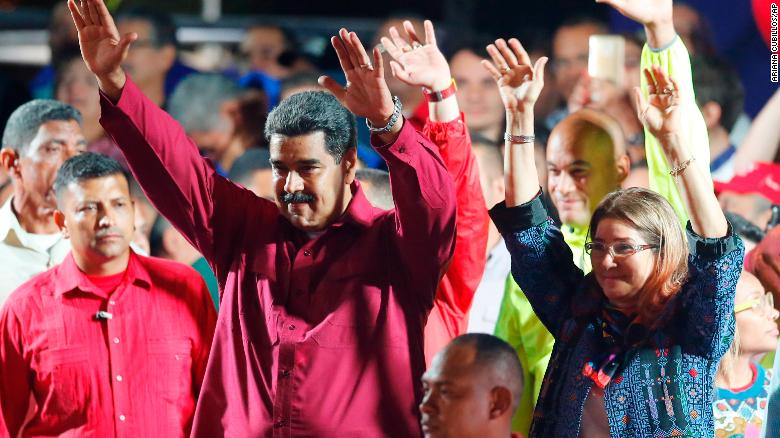 Venezuela says President re-elected; US calls it a sham