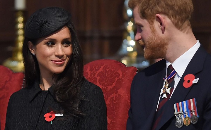 Prince Harry gives British press the cold shoulder ahead of the royal wedding to Meghan Markle