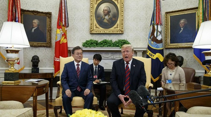 Trump suggests historic North Korea summit in June could be delayed