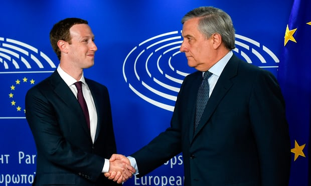 No repeat of data scandal, vows Mark Zuckerberg in Brussels