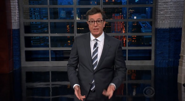 Colbert Just Can't Resist Turning Trump's Nickname Into A Pee Tape Joke