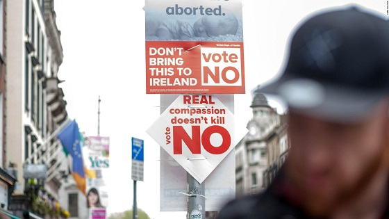 Young Americans try to stop Ireland from voting Yes to abortion