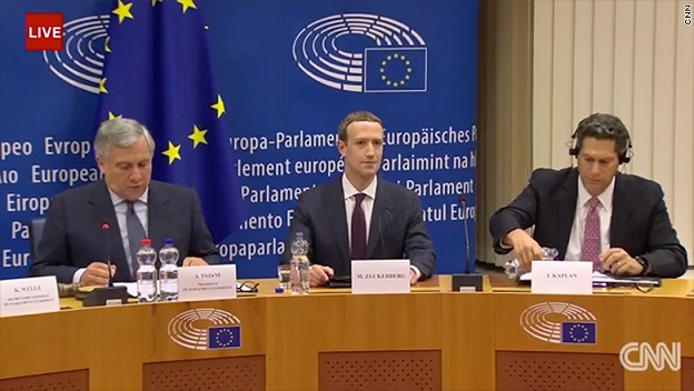Mark Zuckerbergs big European test did not go well