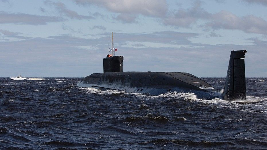 Russian sub test-fires 4 intercontinental missiles in salvo