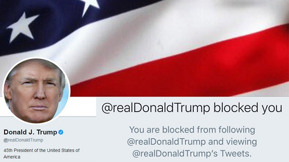 Trump cant block users on Twitter, federal judge rules