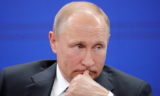 Putin accuses Britain of blaming all their mortal sins on Russia