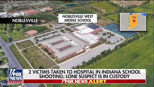 2 hospitalized in Indiana school shooting, suspect in custody: Police