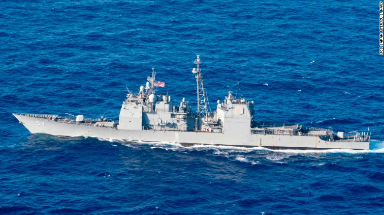 US Navy operation threatens Chinas security, Beijing says