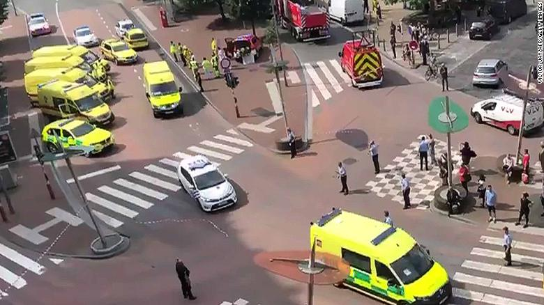 2 police officers and passerby shot dead in Belgium