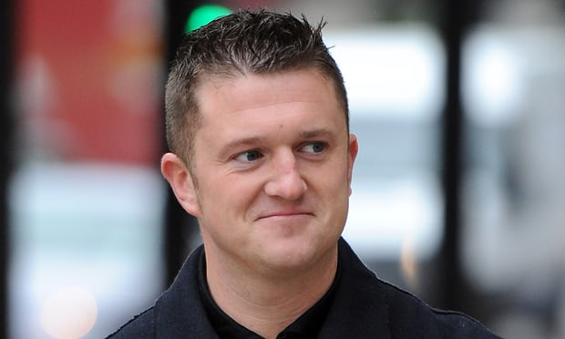 EDL founder Tommy Robinson jailed for contempt of court