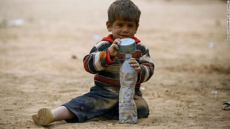 Half of worlds children at risk of war, poverty, discrimination, report finds