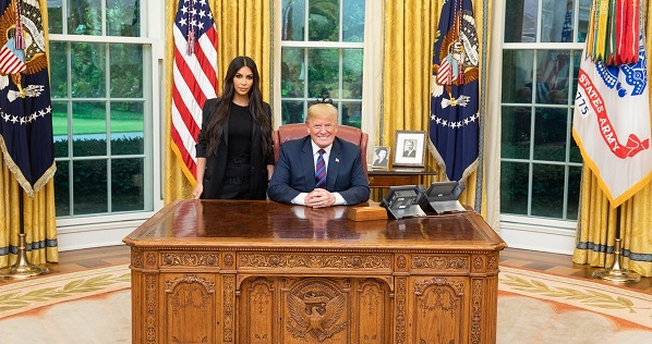 Trump And Kim Kardashian Met At The White House Because 2018