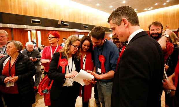 Labour and Tories enjoy mixed night of results in local elections in England