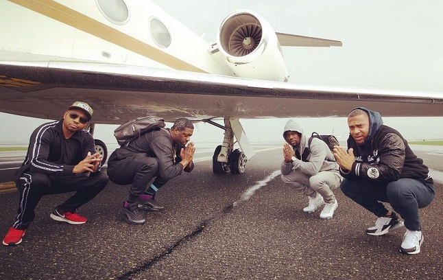 Kevin Hart thanks 'angels' after private jet blows tire