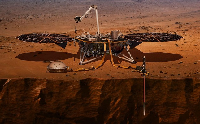 NASA InSight set to launch Saturday to help scientists study inner depths of Mars